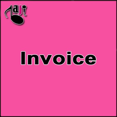 Invoice for 10 Video Karaoke Lyrics + Add Female Vocal