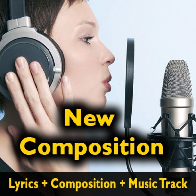Song Lyrics + Composition + Music Track - High Quality