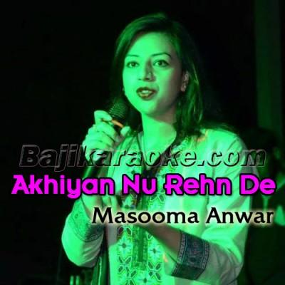 Akhiyan Nu Rehn De - Karaoke  Mp3