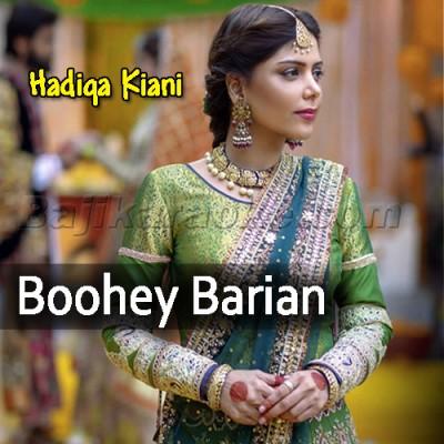 Boohey Barian - Karaoke Mp3 | Hadiqa Kiani