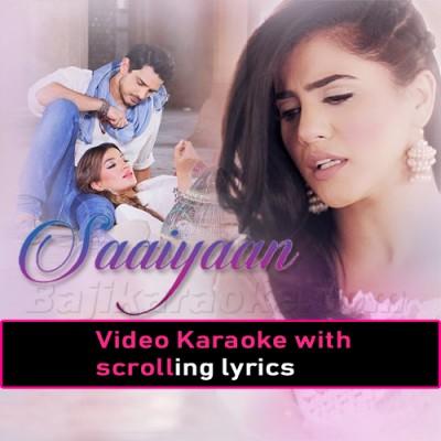 Bulleya Saiyaan -  Video Karaoke Lyrics