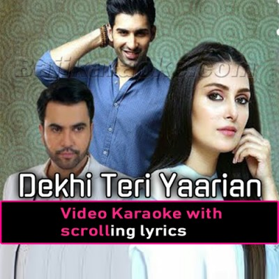 Yaarian - Ost Geo - Video Karaoke Lyrics