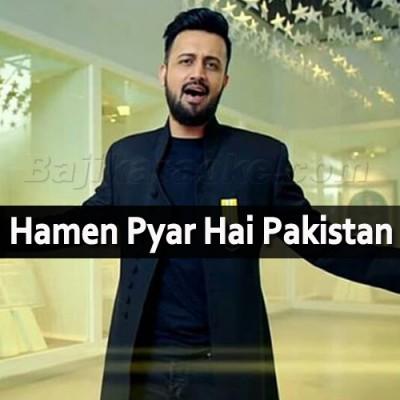 Hamen Pyar Hai Pakistan Se - Karaoke Mp3   Atif Aslam