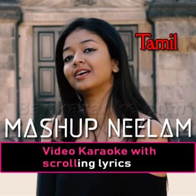 Hindi X Mashup - Tamil - Video Karaoke Lyrics