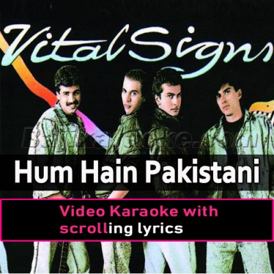Hum Hain Pakistani Hum to - Video Karaoke Lyrics | Junaid Jamshaid