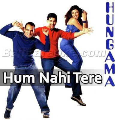 Hum Nahi Tere Dushmano Mein - Karaoke Mp3