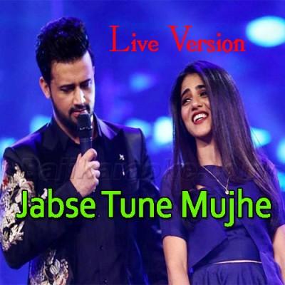 Jabse Tu Ne Mujhe Deewana Bana Rakha - Live Version - Karaoke  Mp3
