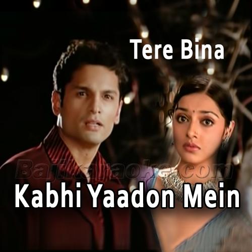 Kabhi Yaadon Mein Aaun - Karaoke mp3