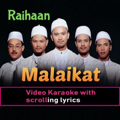 Malaikat - Video Karaoke Lyrics
