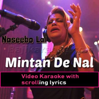Mintan De Nal Mahiya - Video Karaoke Lyrics