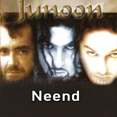 Neend Ati Nahi - Karaoke Mp3 | Junoon Band