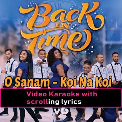 O Sanam - Koi Na Koi - Dil Tera Deewana - Medley - Tamil - Video Karaoke Lyrics