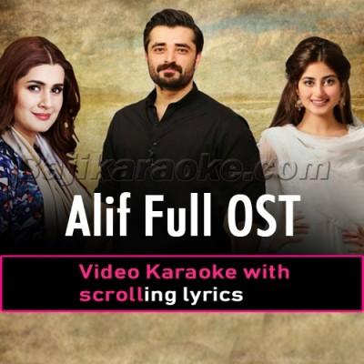 Alif - Ost - Video Karaoke Lyrics
