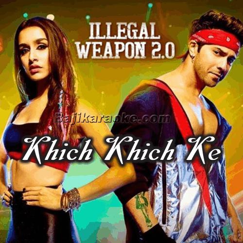 Khich Khich Ke Nishane - Karaoke Mp3