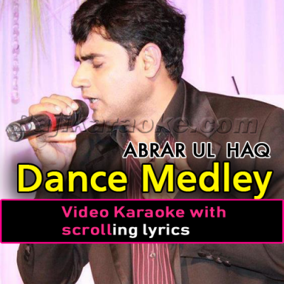 Dance Medley - Female Scale - Video Karaoke Lyrics | Abrar Ula Haq | Daler Mehdi