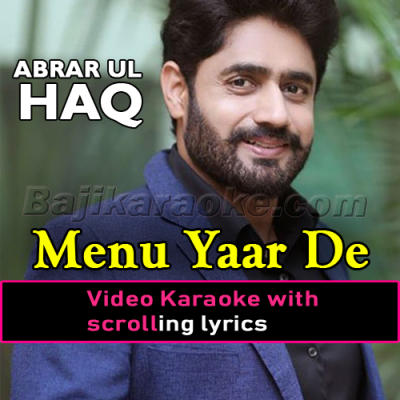 Menu Yaar de Vayah Utte - Video Karaoke Lyrics