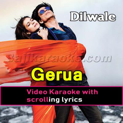 Gerua - Video Karaoke Lyrics