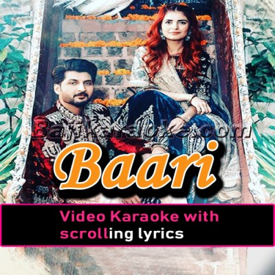 Baari - Video Karaoke Lyrics