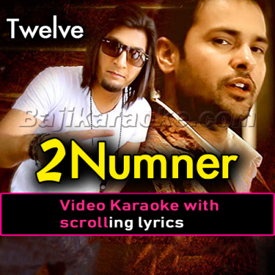 2 Number main - Video Karaoke Lyrics