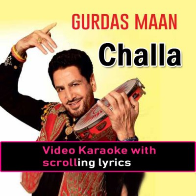 Challa - Video Karaoke Lyrics