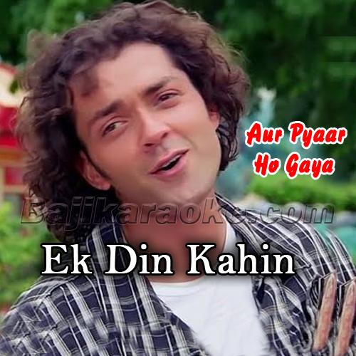 Ek Din Kahin Hum Do Milen - Karaoke Mp3