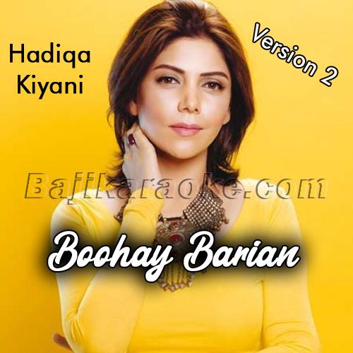 Buhe Barian - Version 2 - Karaoke Mp3 | Hadiqa Kiani