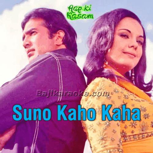Suno Kaho Kaha Suna - Karaoke Mp3