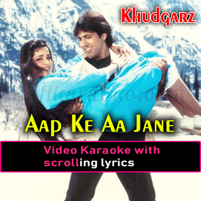Aap Ke Aa Jaane Se - Video Karaoke Lyrics