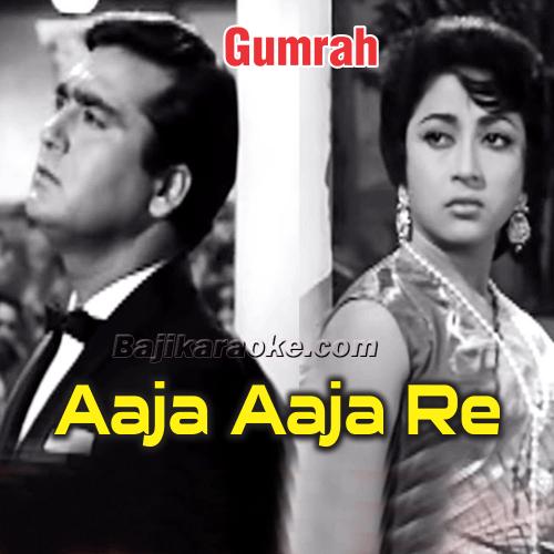 Aaja Aaja Re Tujhko - Karaoke Mp3