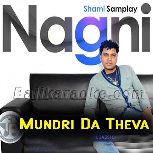 Mundri Da Thewa - Karaoke Mp3