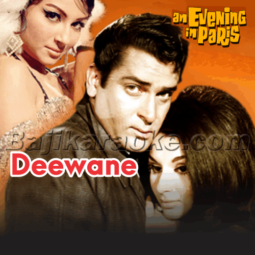 Deewane Ka Naam To Poocho - Karaoke Mp3