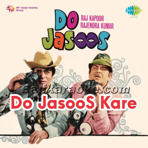 Do Jasoos Kare mehsoos - Karaoke Mp3