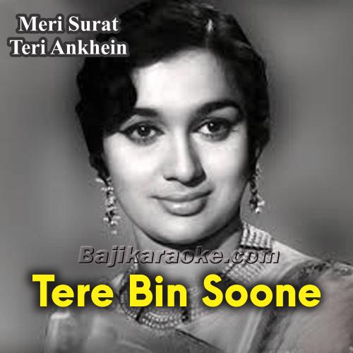 Tere Bin Soone Nain - Karaoke Mp3