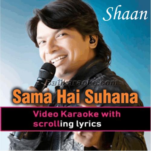Sama Hai Suhana - Remix - Karaoke Mp3