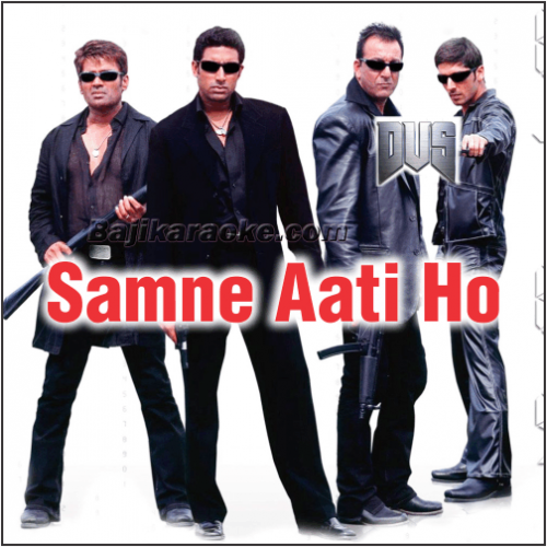 Samne Aati Ho Tum To - Karaoke Mp3