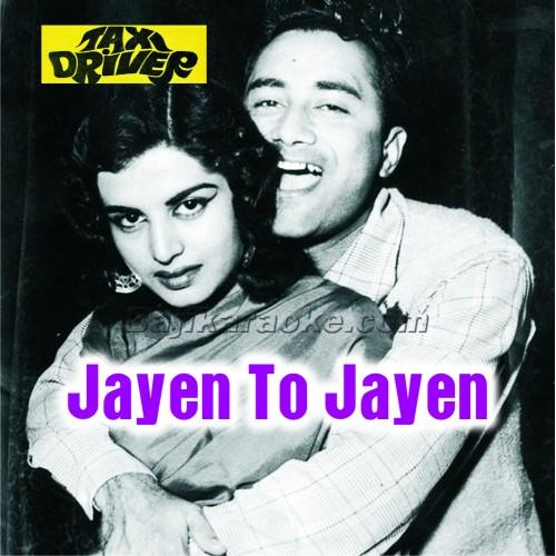 Jayen To Jaayen Kahan - Karaoke Mp3