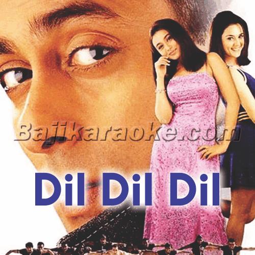 Dil Dil Dil Deewana - Karaoke Mp3