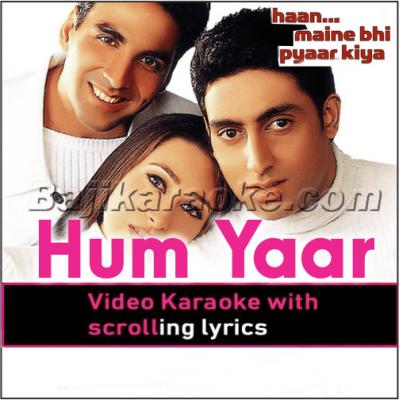 Hum Tumhare Hain Sanam - Video Karaoke Lyrics