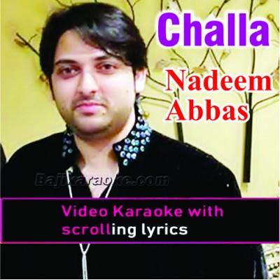 Challa - Punjabi - Video Karaoke Lyrics