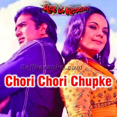 Chori Chori Chupke Chupke - Karaoke Mp3