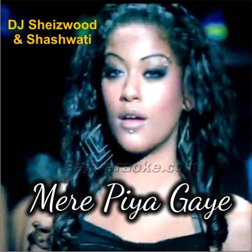 Mere Piya Gaye Rangoon - Remix - Karaoke Mp3