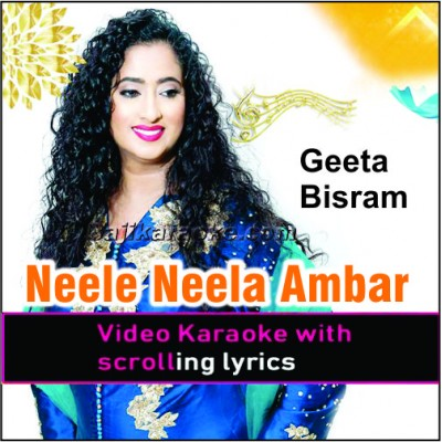 Neele Neele Ambar Par - Remix Caribbean Band - Video Karaoke Lyrics