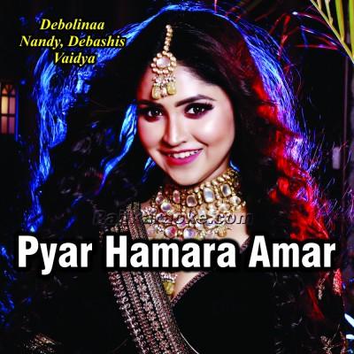 Pyar Hamara Amar Rahe Ga - Cover - Karaoke Mp3