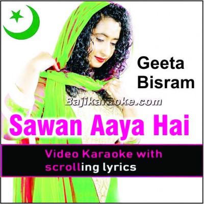 Sawan Aaya Hai - Remix Caribbean Band - Video Karaoke Lyrics