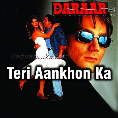 Teri Aankhon Ka Deewana Deewana - With Chorus - Karaoke Mp3