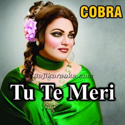 Tu Te Meri Akhiyan Di Neend Churayi - Karaoke Mp3
