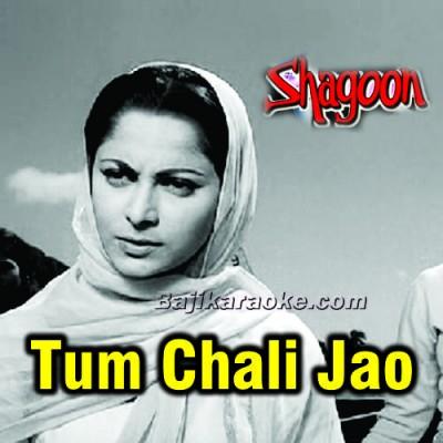 Tum Chali Jao Gi Parchhaiyan - Karaoke Mp3