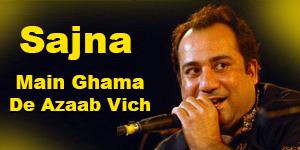 Sajna Main Ghama De Azab Wich