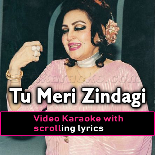 Tu Meri Zindagi Hai - Video Karaoke Lyrics