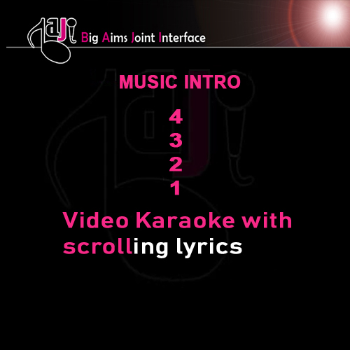 Sade Lekhan Wich - Video Karaoke Lyrics
